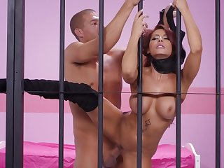 Madison Ivy roughly fucked in jail
