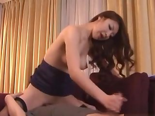 Oriental Babe Fastened Up And Made To Cum With A Toy